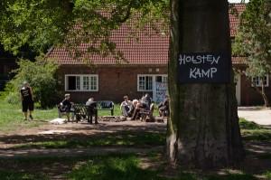 Die Häuser am Holstenkamp