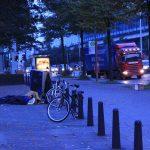 Schlaf finden an der Schnellstraße...