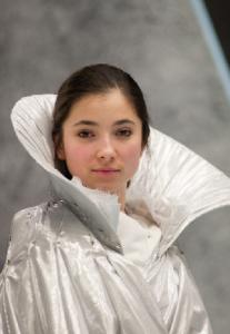 Eiskalt: Sara-Maria in ihrer Titelrolle als Schneekönigin