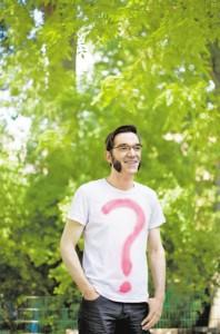Dieser Mann ist dem Unbekannten, dem Geheimnisvollen und RÄTSELHAFTEN verfallen. Christian Krabbe freut sich auf die Jagd nach den Lösungen von Plietsch 2011!