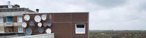 Knapp 9400 Wohnungen vermietet die Gagfah Group in Hamburg in Steilshoop, Wandsbek und Wilhelmsburg. Viele der Häuser sind marode.