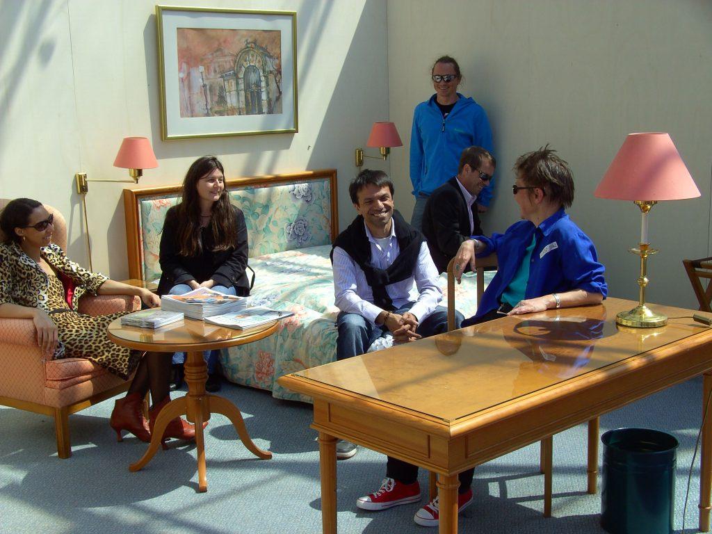 Bunte Truppe: Teilnehmer und Teilnehmerinnen des Ideentags
