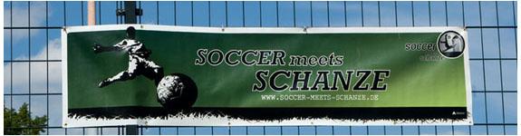 """Kicken für einen guten Zweck: """"Soccer meets Schanze"""""""