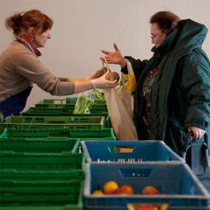 Gurken, Tomaten und Salat kommen bei vielen Tafeln nicht mehr in die Tüten ihrer Kunden