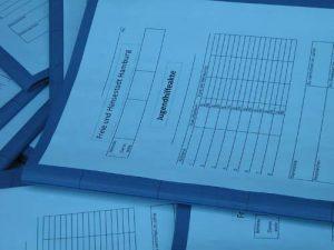 Jeder Akte dokumentiert ein Einzelschicksal.