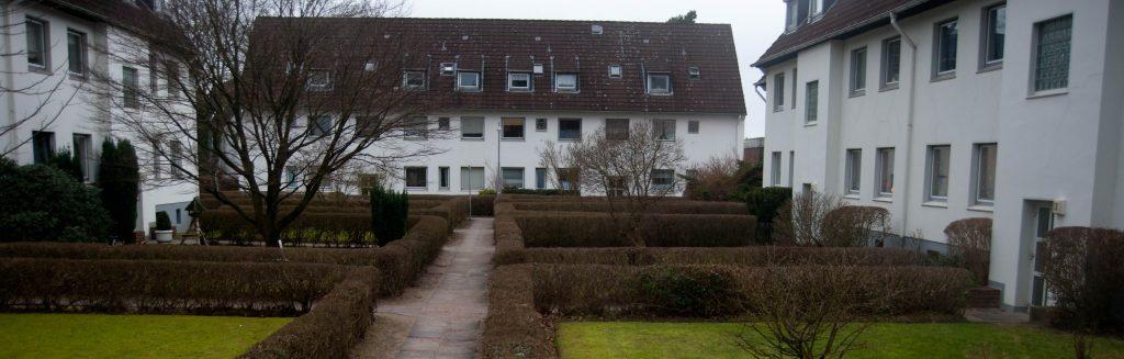 Wie es mit der Wilffschen Siedlung in Langenhorn weitergeht, soll Ende Oktober ein Bürgerentscheid klären.