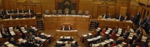 Der Plenarsaal der Bürgerschaft (Archivbild)