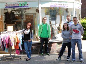 Junges Team: die Auszubildenden Beriwan, Marco, Kristin, Tomek und Chris