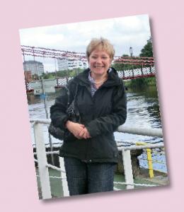 Gabriele Koch ist die Ansprechpartnerin für unsere Spender.