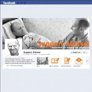 Auf Facebook gibt es eine Seite, die dazu aufruft, den Angeklagten zu unterstützen.