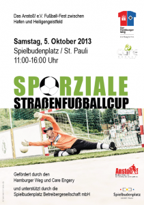 Einladung Sporziale Straßenfussballcup