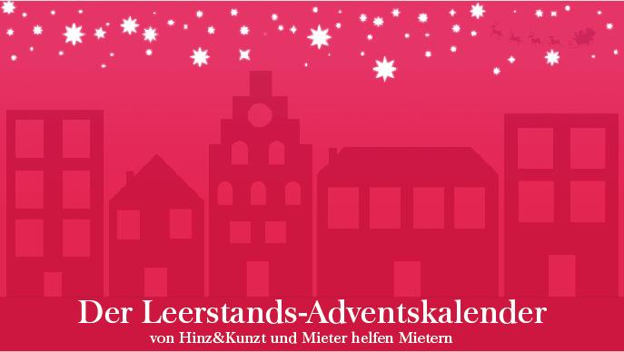 Im Dezember präsentieren wir jeden Tag ungenutzte Häuser und Wohnungen unter  www.huk.de/adventskalender. Denn obwohl Wohnraum knapp ist, stehen zahlreiche Gebäude grundlos leer.
