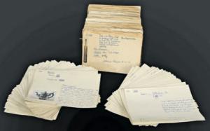 Im Hamburger Staatsarchiv la- gern zahlreiche Dokumente, die vom KUNST- RAUB an den Hamburger Juden erzählen. Sie warten da- rauf, ausgewertet zu werden. Foto: