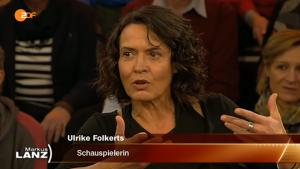 Ulrik Folkerts war zu Gast in der ZDF-Talkshow von Markus Lanz. Foto: Screenshot.